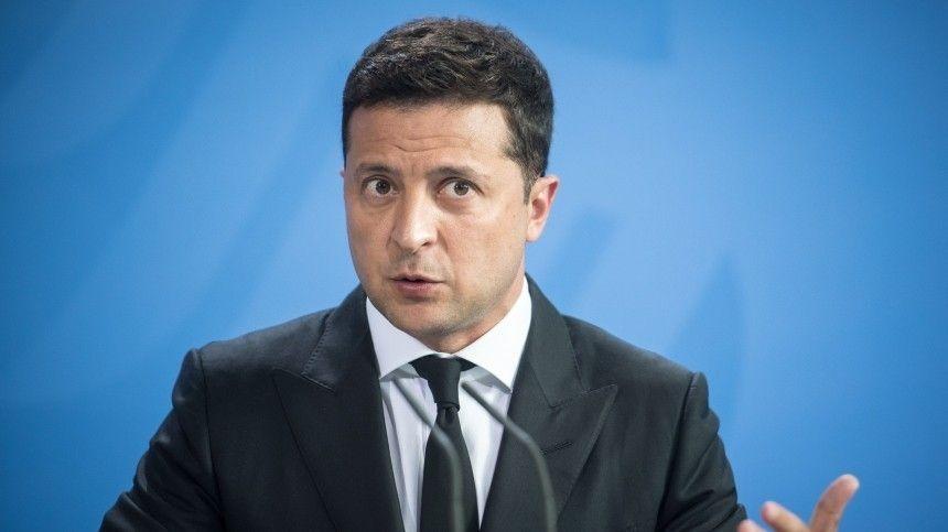 Зеленский обвинил Россию в нарушении международного права из-за Донбасса
