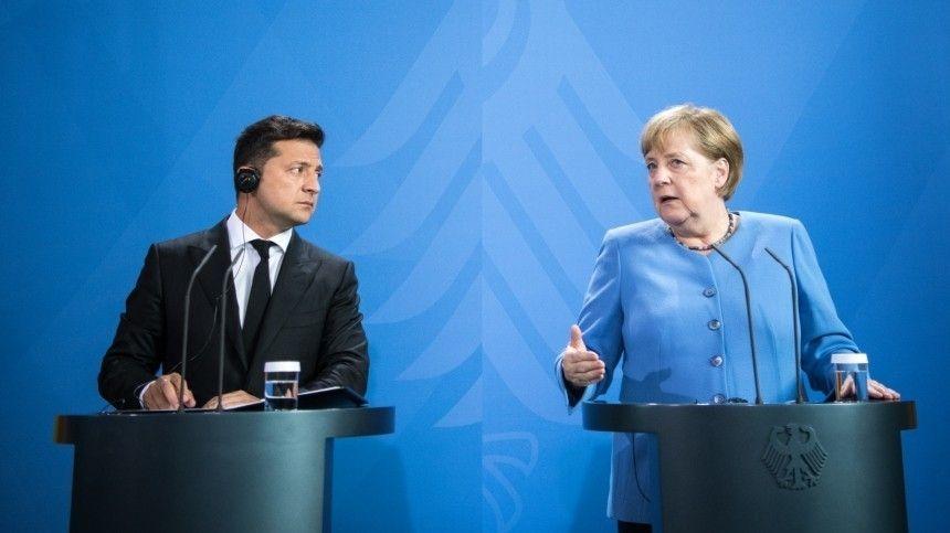 В Киеве нашли серьезную угрозу в будущей встрече Меркель с Зеленским