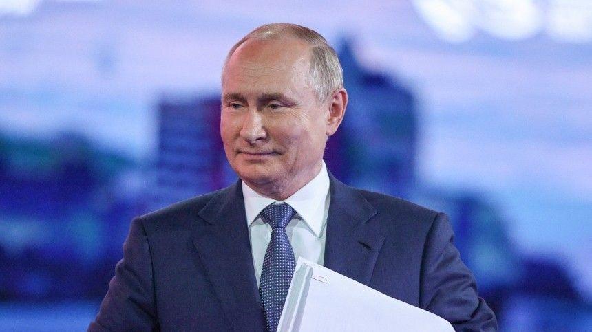 Путин поздравил с праздником работников и ветеранов нефтегазовой промышленности
