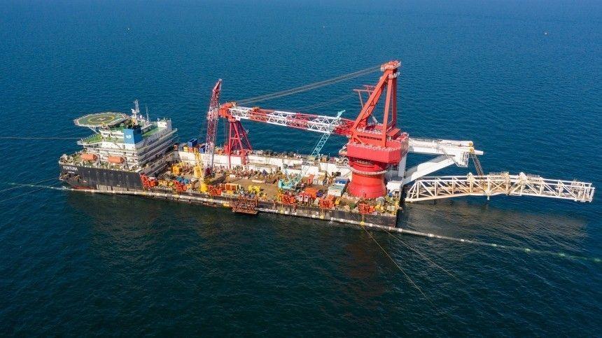 Морская часть второй нитки газопровода технически завершена. Ввести его вэксплуатацию планируют доконца 2021 года.