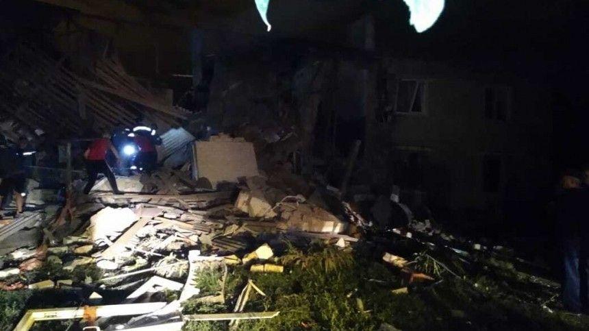Обрушившийся из-за взрыва дом под Липецком недавно проверяли газовщики