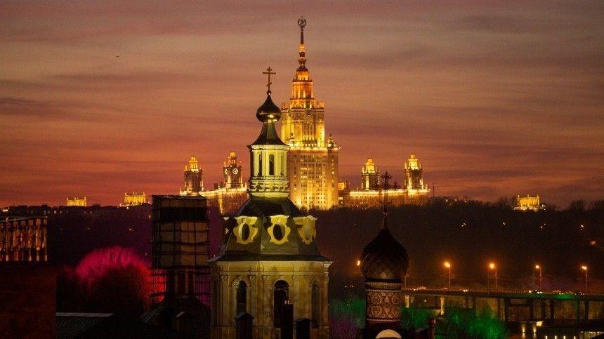 Путин поздравил москвичей с Днем города: Россия и ее столица неразрывны