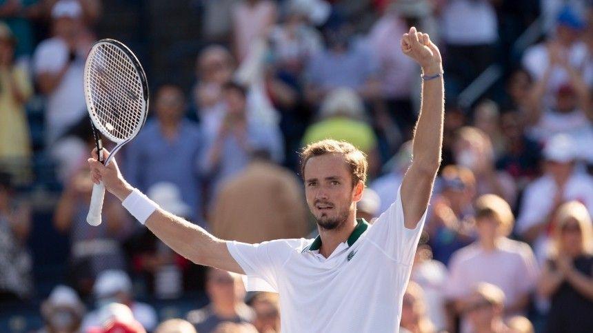 Теннисист Медведев впервые в карьере выиграл US Open