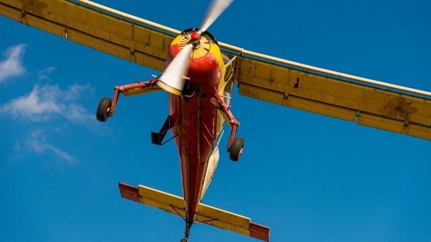 Легкомоторный самолет рухнул Белгородской области