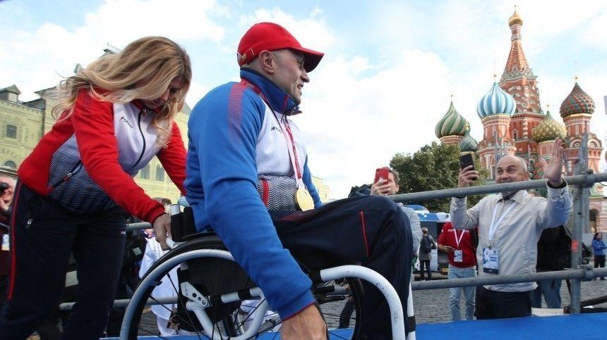 Путин: судьбы паралимпийцев РФ достойны и экранизации, и книги