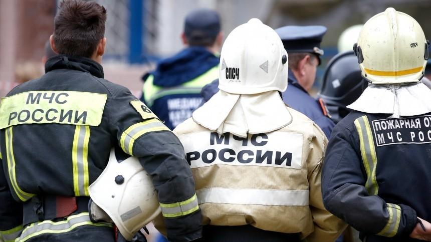 Наулице Лагерная обрушился один изподъездов пятиэтажного здания.