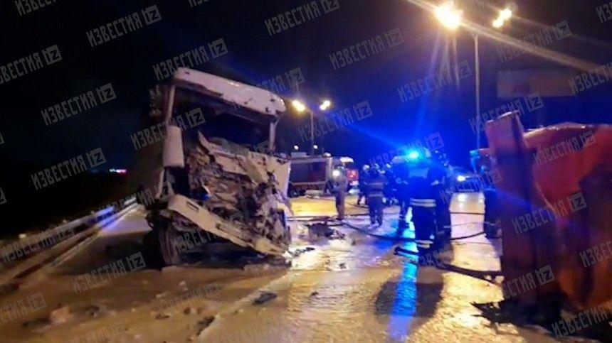 Инцидент произошел ночью 19сентября на22 километре автодороги.