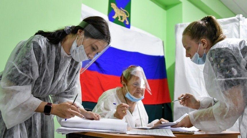 Председатель ЦИК РФЭлла Памфилова заявила, что наминувших выборах были зафиксированы высокая явка избирателей иширокое политическое разнообразие.