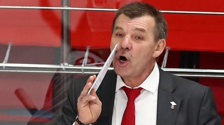 Олег Знарок во второй раз стал главным тренером сборной России по хоккею