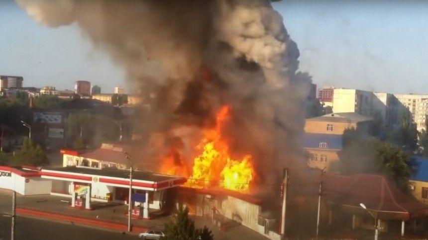Пожарным удалось справиться свозгоранием засчитанные минуты.
