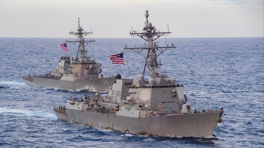 Операция проходит под предлогом оперативного размещения своих судов натерритории Атлантики.