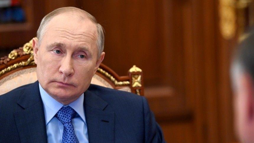 Путин ответил на вопрос о своем участии в выборах 2024 года