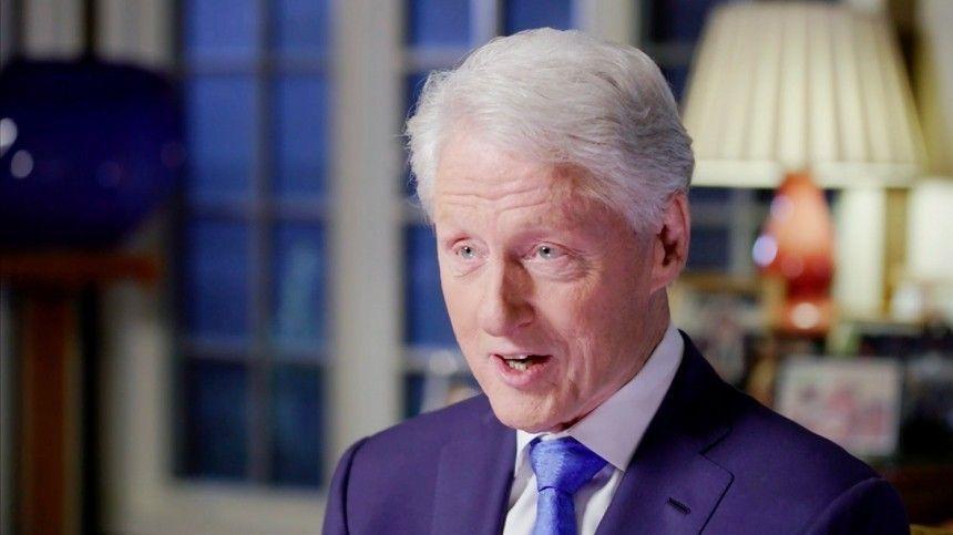 Стали известны обстоятельства госпитализации Билла Клинтона