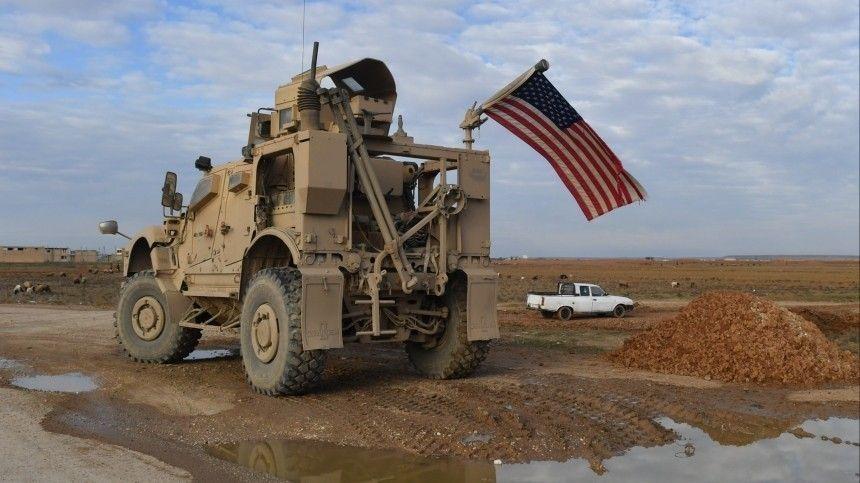 Жители сирийской провинции Хасеке прогнали американских военных