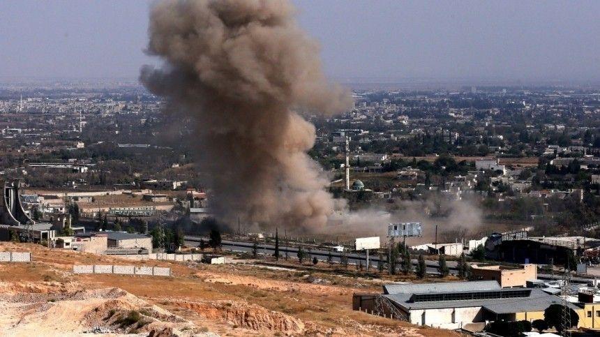 В Сирии произошел взрыв на складе боеприпасов