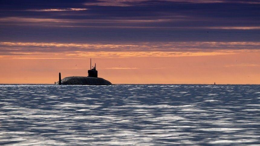 Атомный подводный ракетоносец «Князь Олег» успешно осуществил испытания баллистической ракеты изакватории Белого моря.