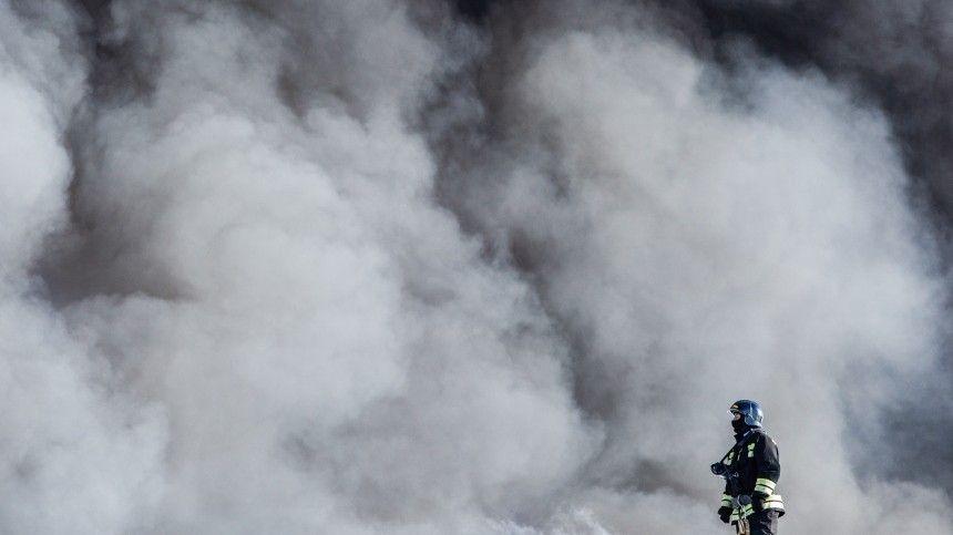 Пожар локализован наплощади 160 квадратных метров.