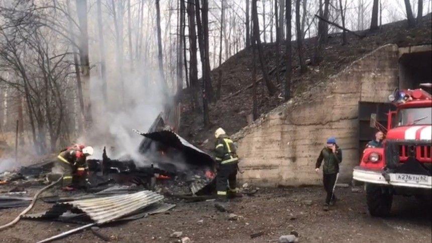 Взрыв ипоследующий пожар унес жизни пятнадцати человек, судьба еще одного неизвестна