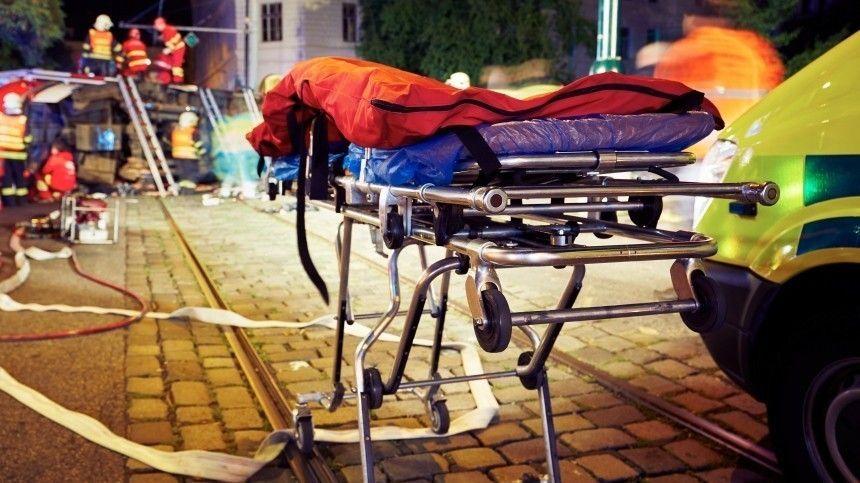 Авария сучастием Audi иKIA произошла наДомодедовской улице. Пострадал трехлетний ребенок.