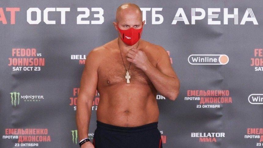 Шлеменко о победе Емельяненко в турнире Bellator: Мой прогноз полностью сбылся